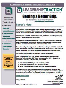 Getting a Better Grip | December 2013