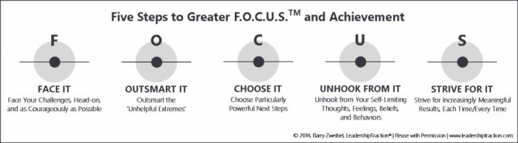 The LeadershipTraction F.O.C.U.S. diagram